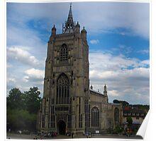 St Peter Mancroft, Norwich, Norfolk Poster