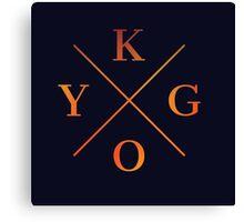 KYGO Shirt Black Canvas Print