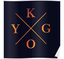 KYGO Shirt Black Poster