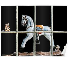 Rocking-Horse Window Poster