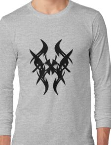 Distorted Arrows Long Sleeve T-Shirt