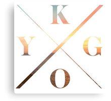 KYGO Shirt White Canvas Print