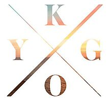 KYGO Shirt White Photographic Print