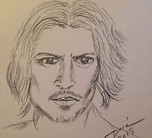 Johnny Depp by Dorejaeger