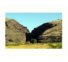 Picture Gorge, Central Oregon Art Print