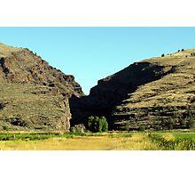 Picture Gorge, Central Oregon Photographic Print