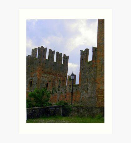 Castell'Arquato - Piacenza - Italy Art Print