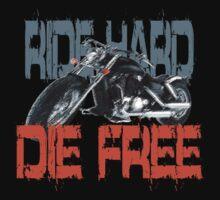 Ride hard t-shirt by valizi