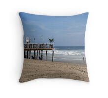 Cold Beer, Sold Here Throw Pillow