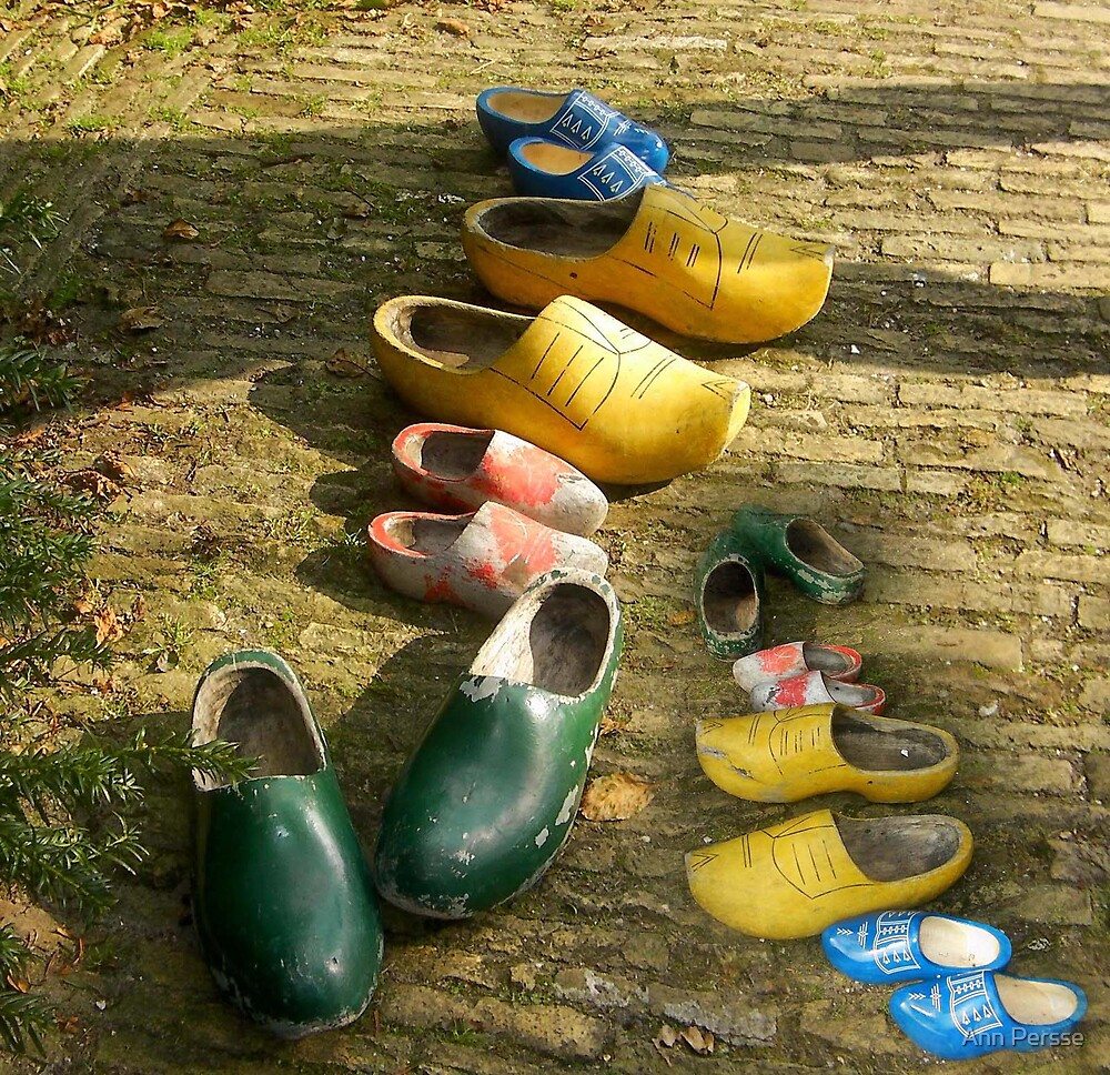 whos shoes by Ann Persse