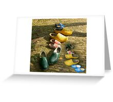 whos shoes Greeting Card