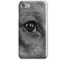 Courage the Beagle B&W Portrait - 1 iPhone Case/Skin