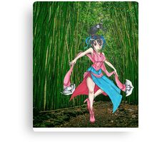 Eir Fan Canvas Print