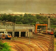 The Laira Yard by phil hemsley