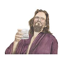 "Jeffrey ""the Dude"" Lebowski Photographic Print"