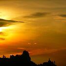 Climbing sunset by Anitavr