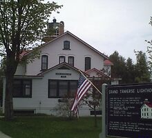 Grand Traverse Lighthouse by Aasma
