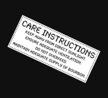 Care Instructions - Bourbon by Ron Marton