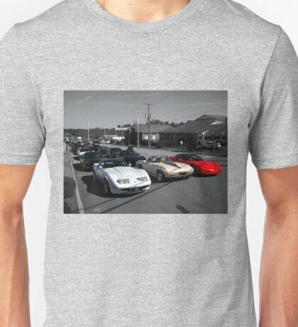 rows of vettes ll Unisex T-Shirt