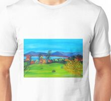 Fall in the country Unisex T-Shirt