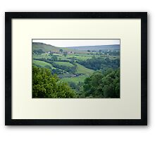 NYMR> Road To Goathland. Framed Print