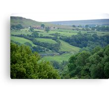 NYMR> Road To Goathland. Canvas Print