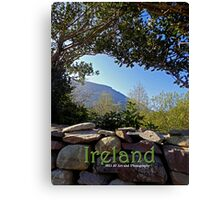 Ireland - Ring of Kerry Cover Canvas Print
