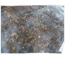 Rocks through Water 2 Poster
