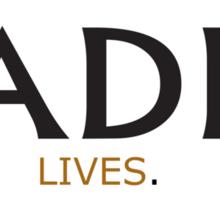 Radio Lives - Copper Sticker