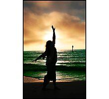 Sunset Silhouette IV Photographic Print