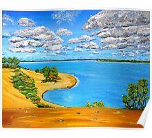 Dune beach Sandbanks Ontario Poster