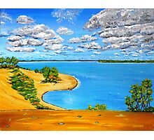Dune beach Sandbanks Ontario Photographic Print
