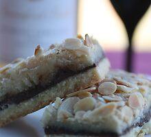 Chocolate Almond Slice by Joy Watson