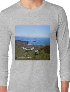 Ireland - Ring of Kerry Sheep Long Sleeve T-Shirt