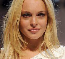 Lindsay Lohan Red Eyes by dopecinema