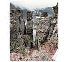 Pillar of Ages - Mt. Oberlin - Glacier National Park, Montana, USA Poster