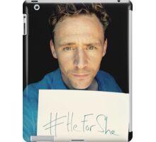 #HeForShe iPad Case/Skin