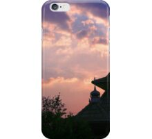 dome mosques in silhouette  iPhone Case/Skin