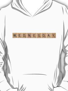 Wood Scrabble Wednesday! T-Shirt
