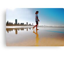 WALKING TALL Canvas Print