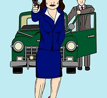 Agent Carter by SpecsomeEmilie