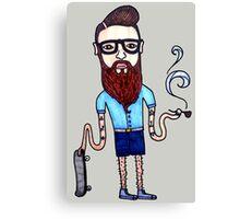 Organic Hipster Canvas Print