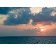 Sunset over the Gulf of Mexico 3 Photographic Print
