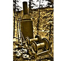 The Steam Donkey Photographic Print