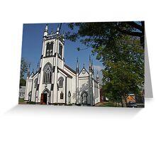 St Johns Church, Lunenburg, Nova Scotia Greeting Card