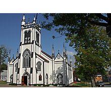 St Johns Church, Lunenburg, Nova Scotia Photographic Print