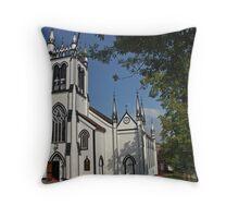 St Johns Church, Lunenburg, Nova Scotia Throw Pillow
