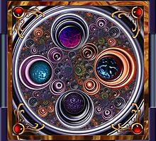 Circle Mandala by blacknight