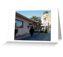 Sandman Motel Greeting Card