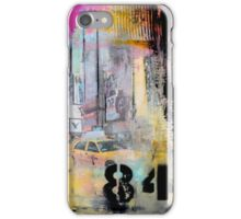 New York Times Square and Taxi Series #84 iPhone Case/Skin
